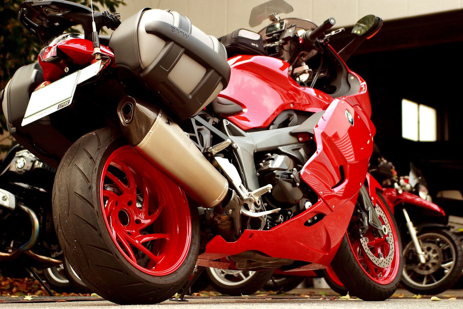 K1300Sのガラスコーティング 埼玉所沢のバイク磨き専門店 浦和 練馬 和光