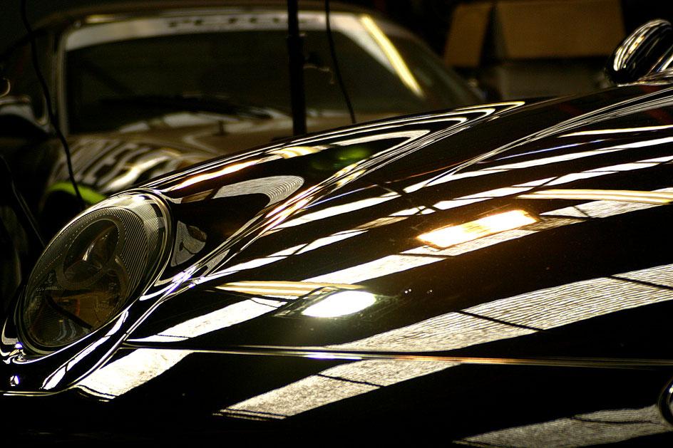 993RSクラブスポーツのガラスコーティング後 傷修理 塗装の曇り解消