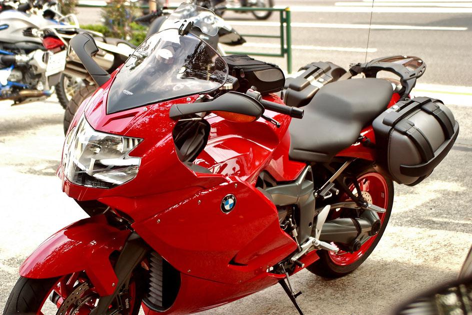バイク磨き K1300Sのコーティング 飯能 深谷 坂戸 練馬 カウルの傷消し