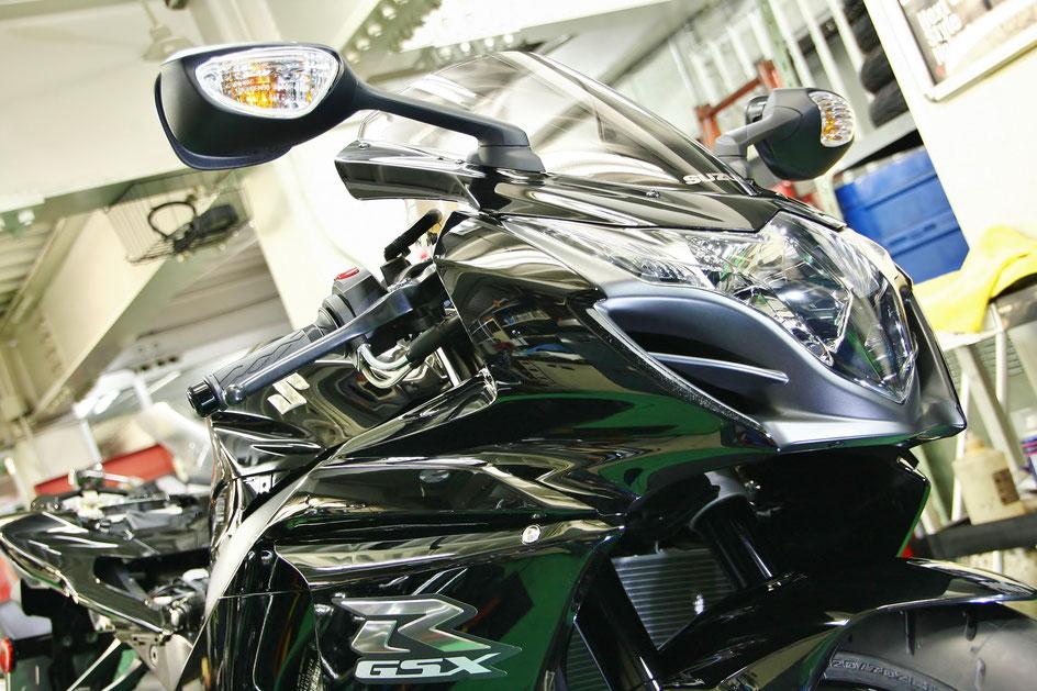 R1000 ガラスコーティング バイク磨き 羽生 見沼区 深谷