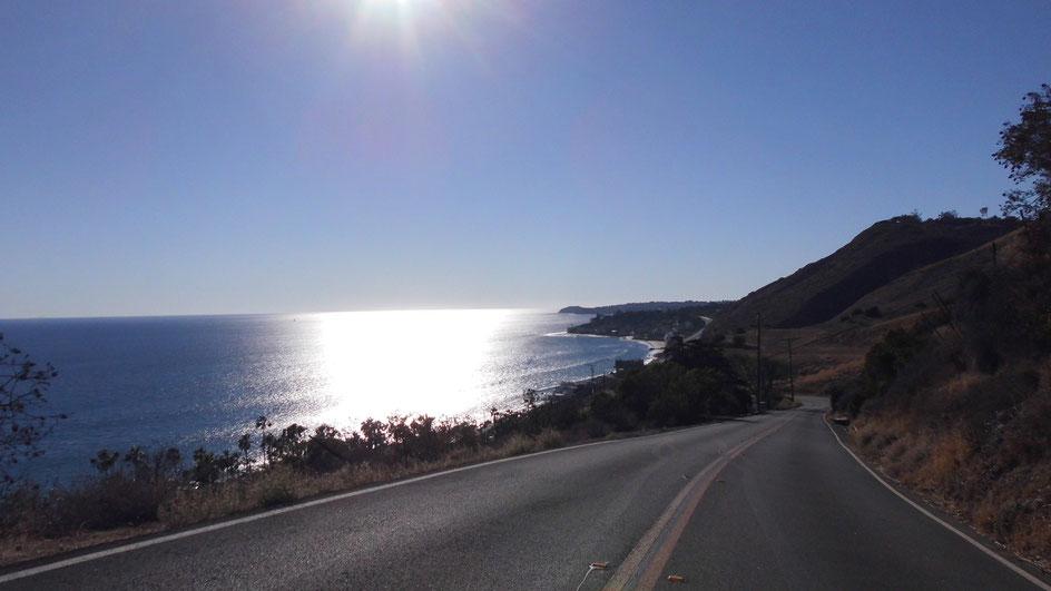 Bild: Route 66 Los Angeles, Malibu, Pacific Ocean, Pazifischer Ozean