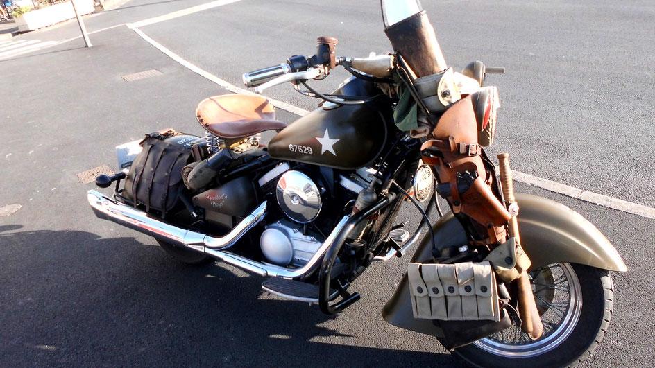 Bild: Harley Davidson Replica aus dem 2. Weltkrieg