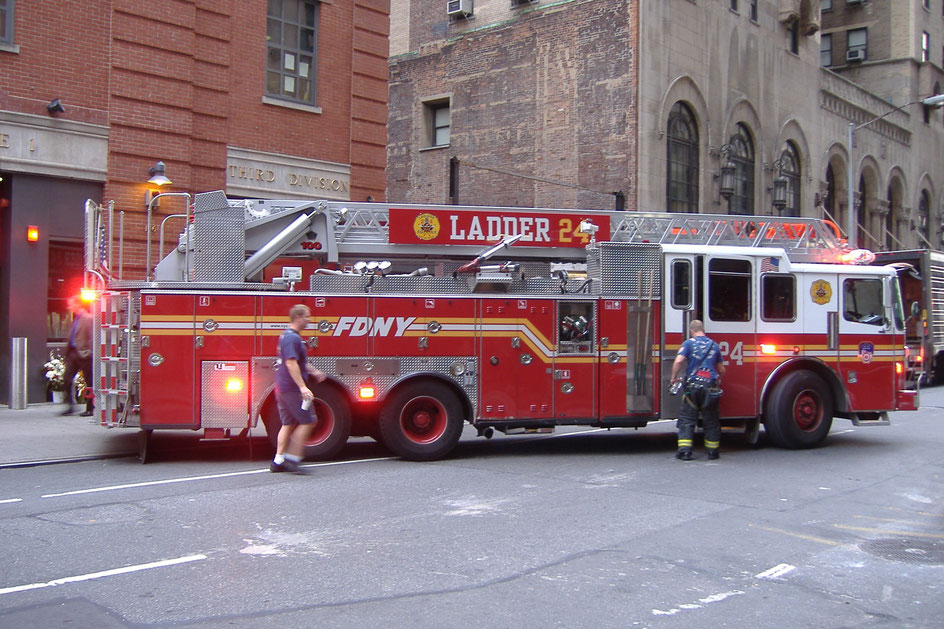 Bild:  truck Fire Department of New York City
