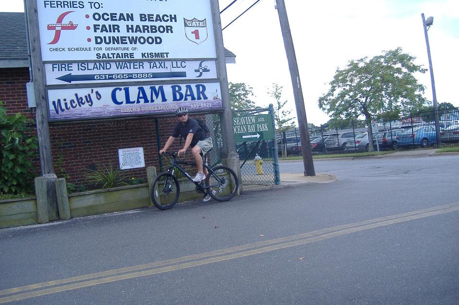 Bild: Long Island, New York, HDW, Hans-Dieter Wuttke, 5000 Meilen westwärts; Manhattan by bike