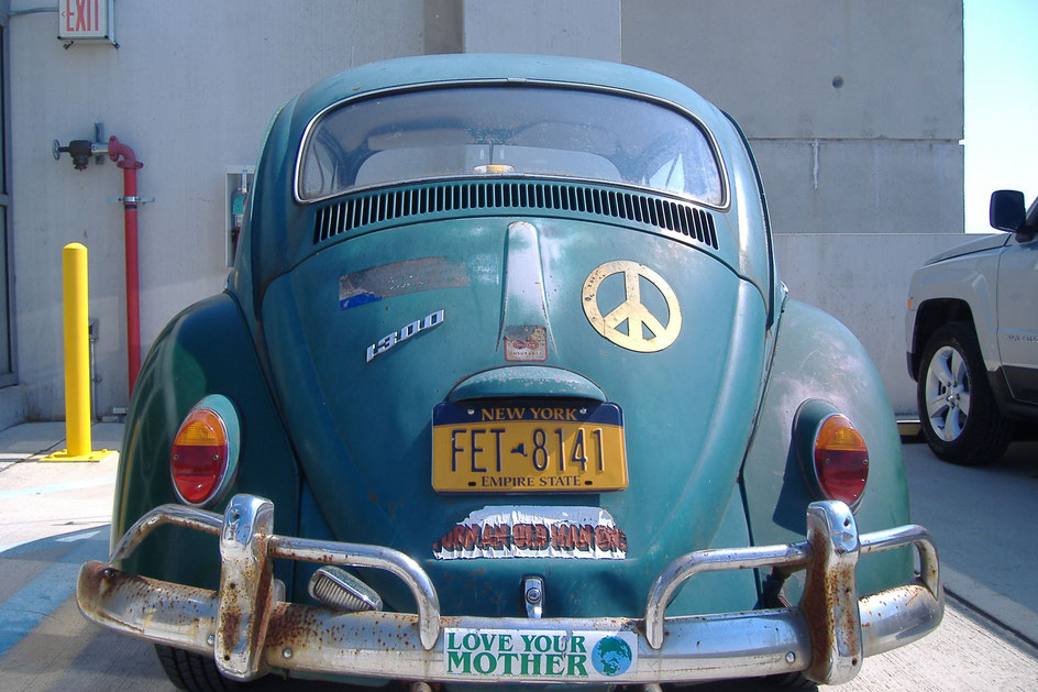 Bild: VW Käfer 1300 Beetle, Veteran, Peace
