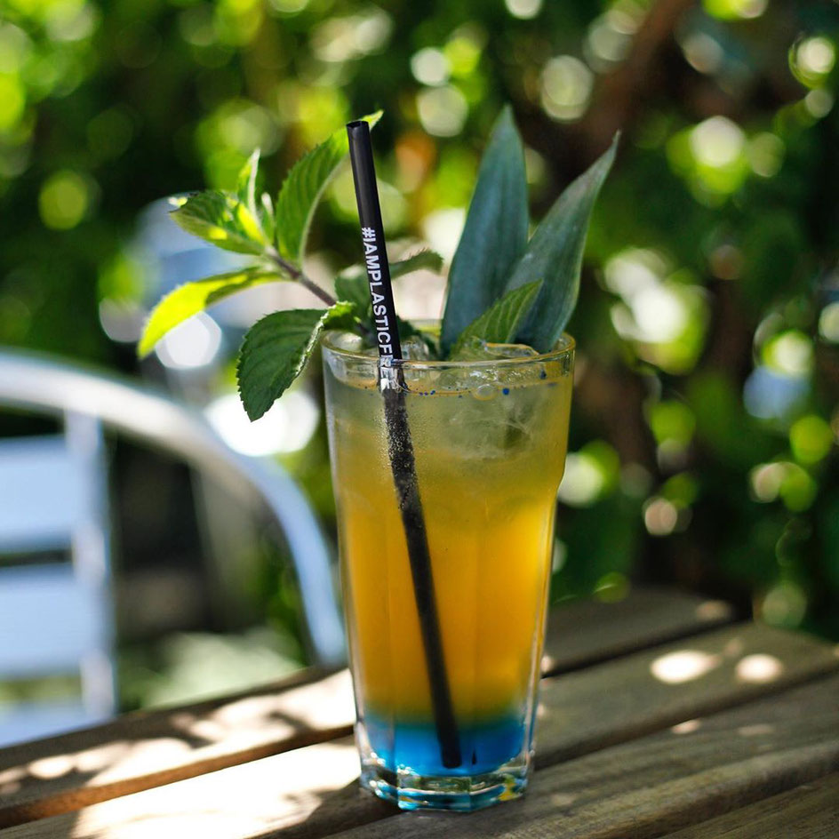#iamplasticfree Strohhalm im Cocktail
