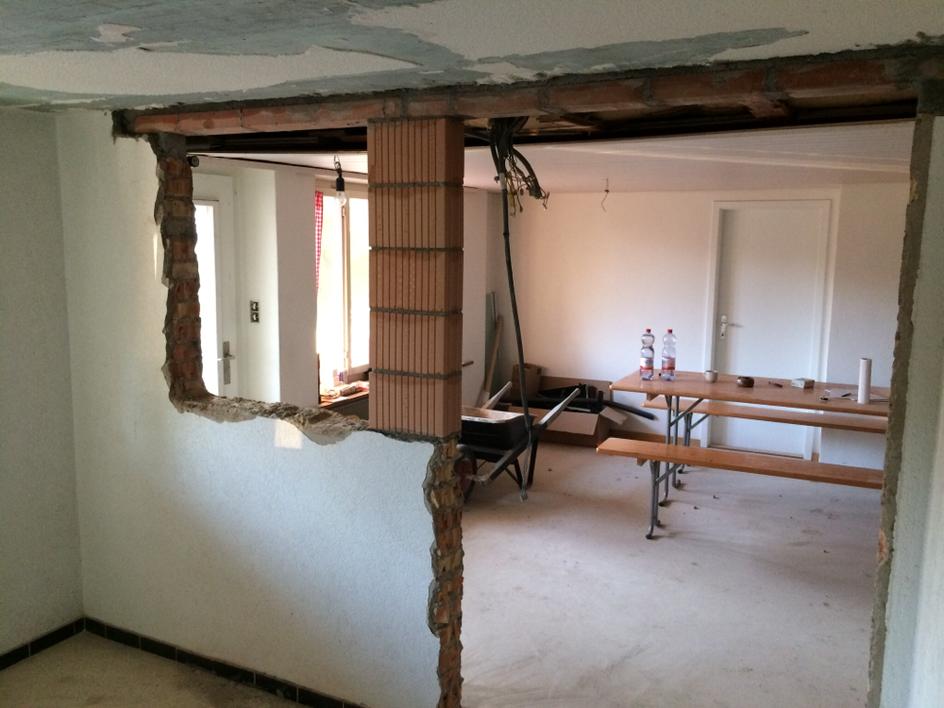 Umbau Wohnung und Keller (Studen)