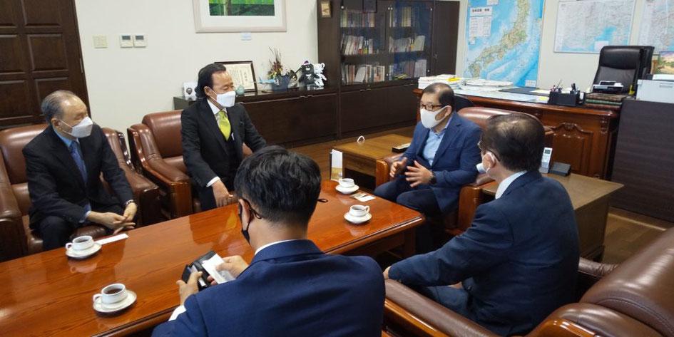 KGAY 駐横浜大韓民国総領事館を訪問