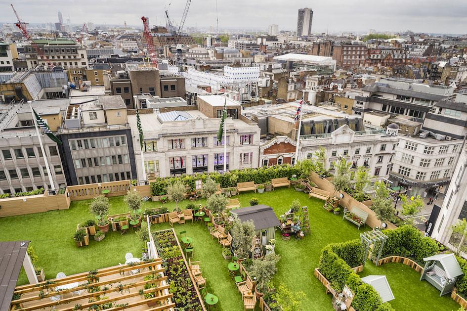 John Lewis Rooftop, Gardening Society