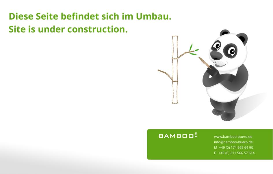 Grafik- Webdesign Bamboo! Düsseldorf