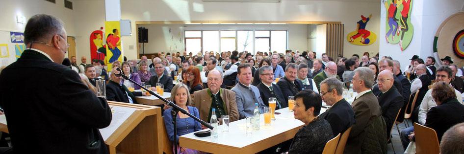 Neujahrsempfang am 6. Januar 2020 in der Aula der Grundschule in Weyarn