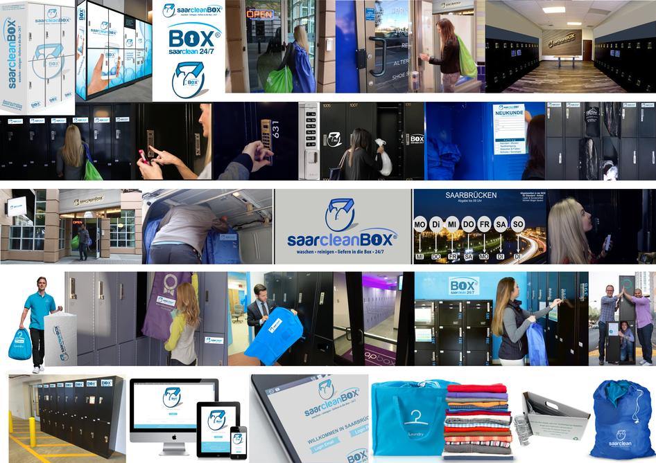 cleanboxone, Über uns, Potpourri Zusammenstellung Bilder der saarcleanbox