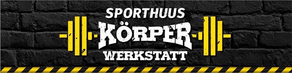 Banner Sporthuus Körperwerkstatt - wir haben die besten Öffnungszeiten in Friesoythe