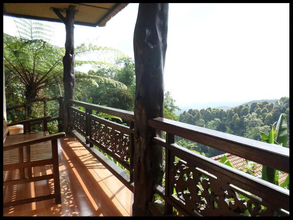 Le balcon du cottage