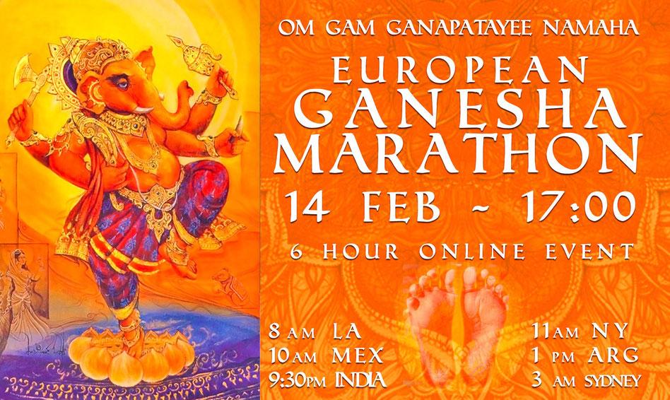 Kostenfreies Online Mantra Konzert:  mit Joachim Böttcher und vielen weiteren Musikern / innen und Mantrasänger / innen. Nacheinander werden sie mit euch das Mantra OM GAM GANA PATAYE NAMAHA singen.