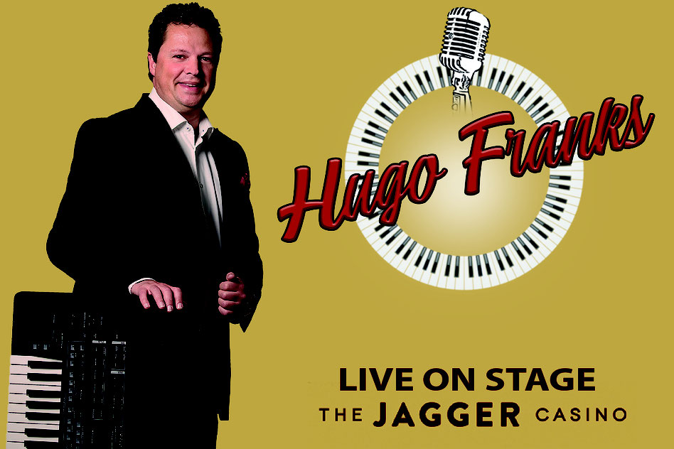 the jagger casino, jagger, spijkenisse, live muziek, entertainment, hugo franks, zanger, pianoshow