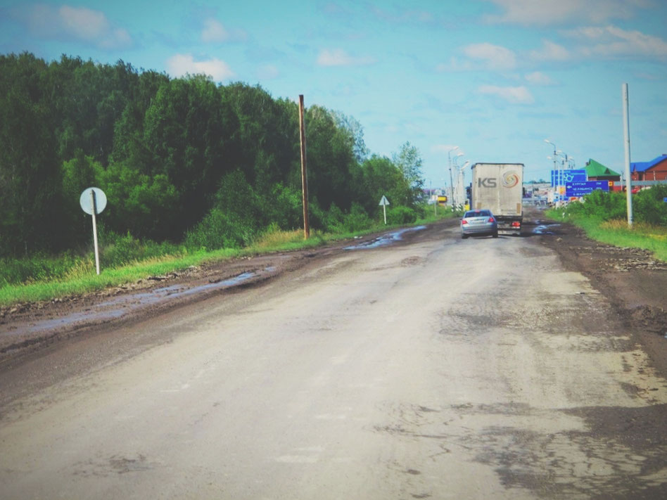 bigousteppes russie siberie route camion