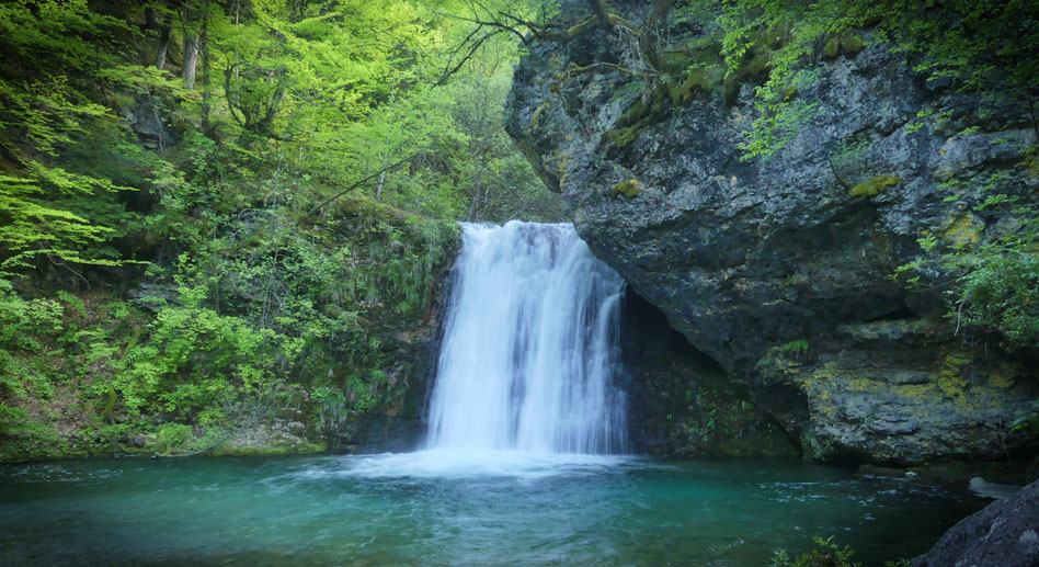 MONT OLYMPE GRECE CASCADE RANDONNEE FORET BIGOUSTEPPES BALKANS MACEDONIA