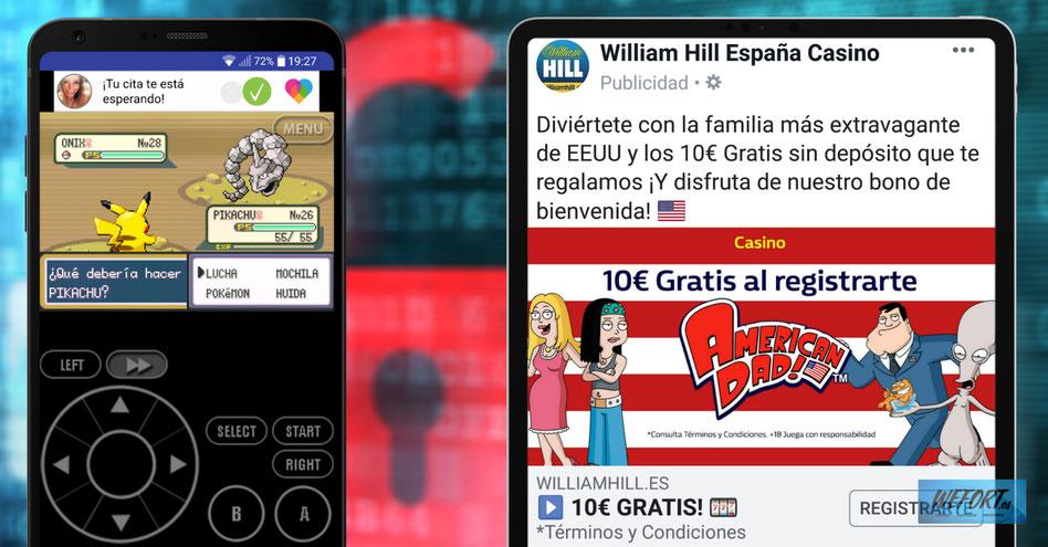 Qué tipos de publicidad (para adultos) ven tus hijos cuando les dejas el móvil
