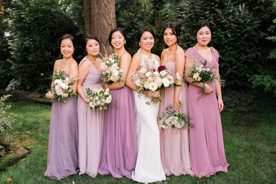 Stephanie Roseanne Design Bridesmaid Bouquets