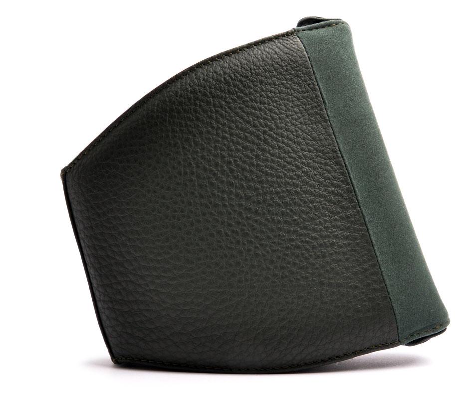 Dirndltasche MARLA grün Leder online versandkostenfrei kaufen OSTWALD Traditional Craft