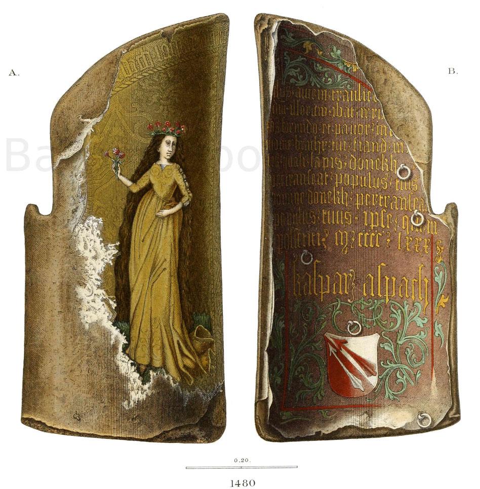 Reiterschild (Tartsche) 1480