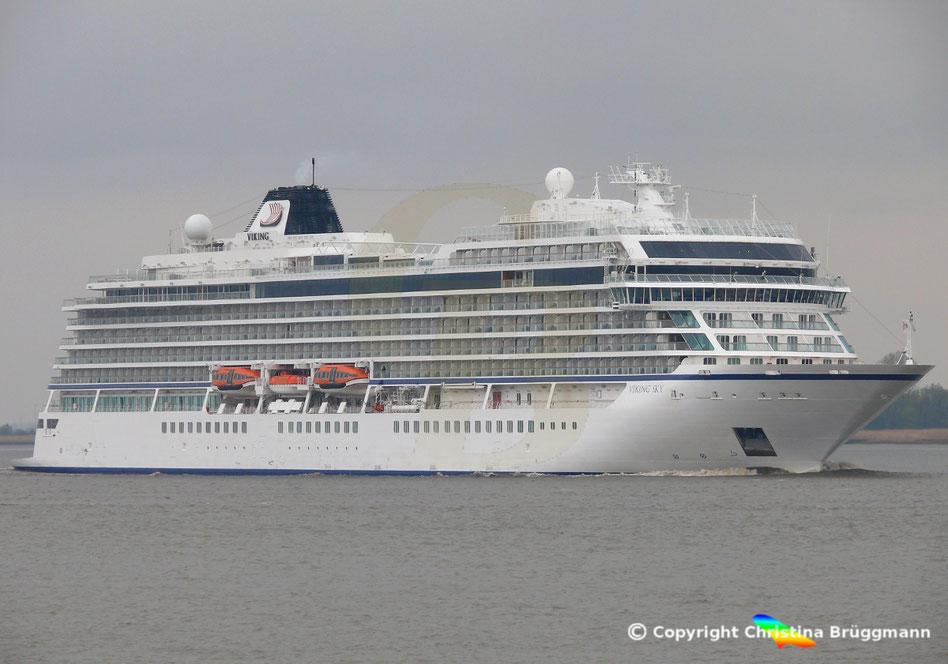 Passagierschiff VIKING SKY