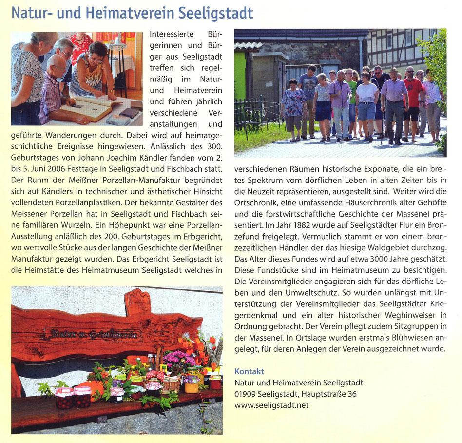 Bild: Natur u. Heimatverein Seeligstadt 2021