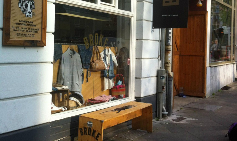 second hand bei broke in düsseldorf