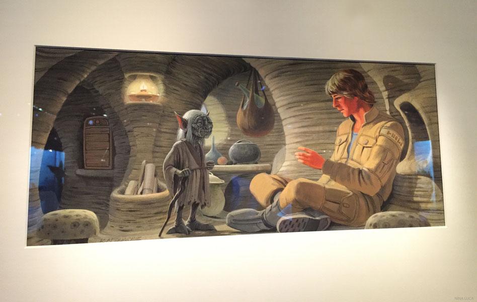 image: nina luca, star wars, star wars identities, star wars münchen, star wars exhibition, yedi, lightsaber,