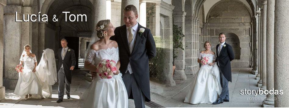 Fotógrafos de bodas en Madrid. Reportajes de boda.