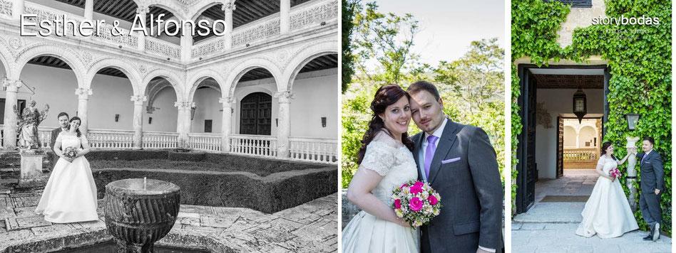 Fotógrafos profesionales de boda en Madrid.