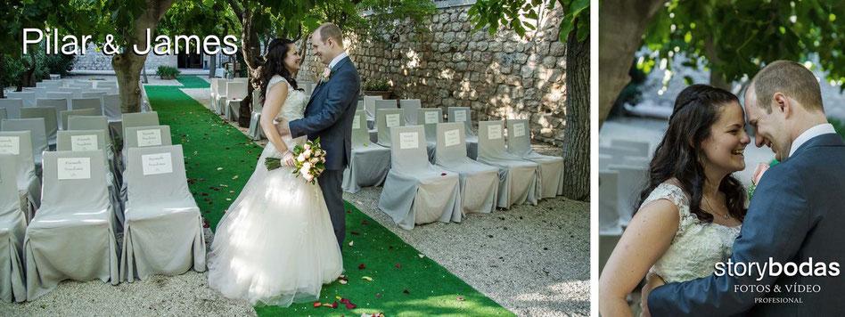 Fotógrafos de bodas y vídeos en Madrid.