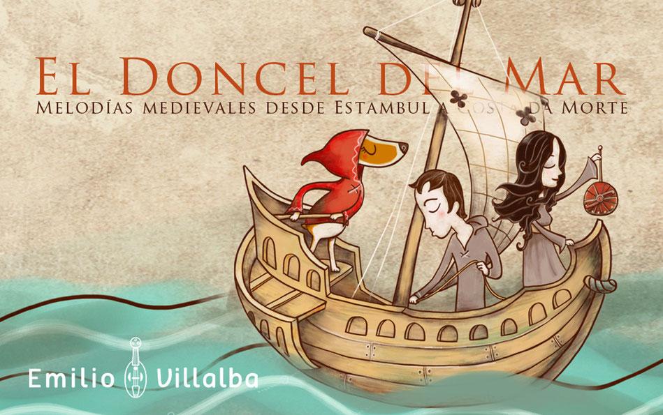 "Diseño del disco ""El Doncel del Mar"""