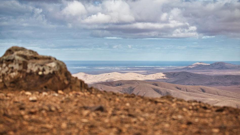 Blick über Fuerteventura