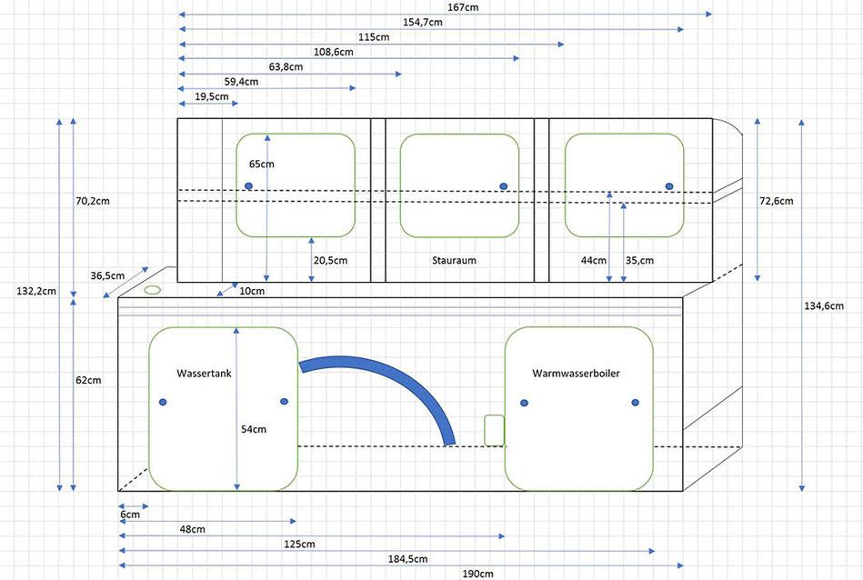 VW T5 Ausbau - Camping Wasseranlage im VW Bus - Lifetravellerz Blog