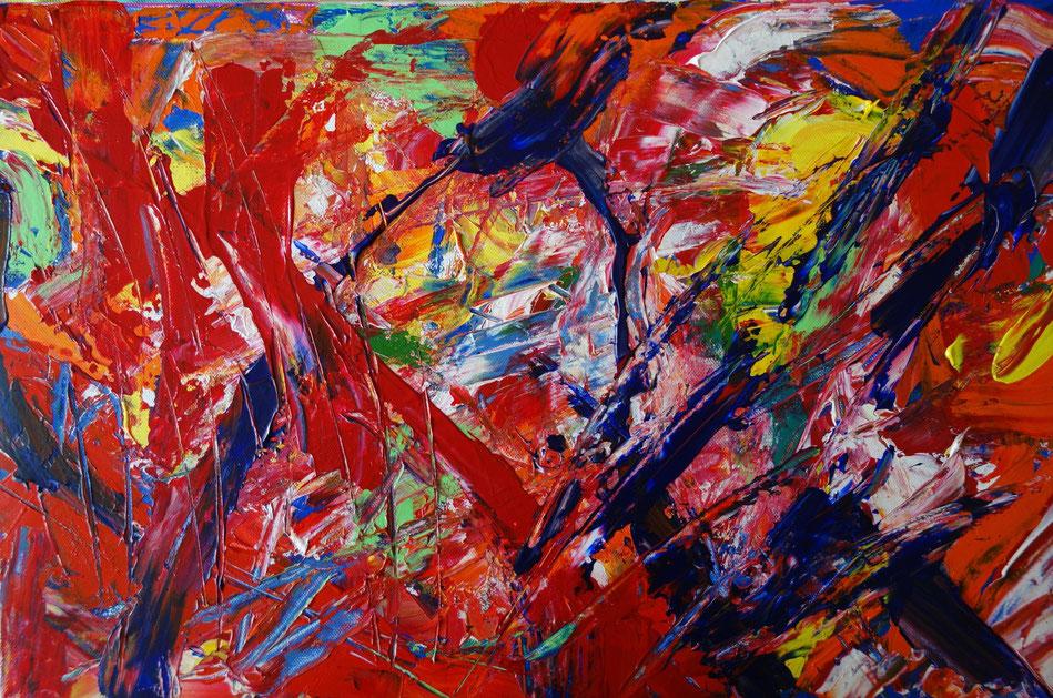 Abstrakte Gemälde, modern art - atelier-farblust - Kunst