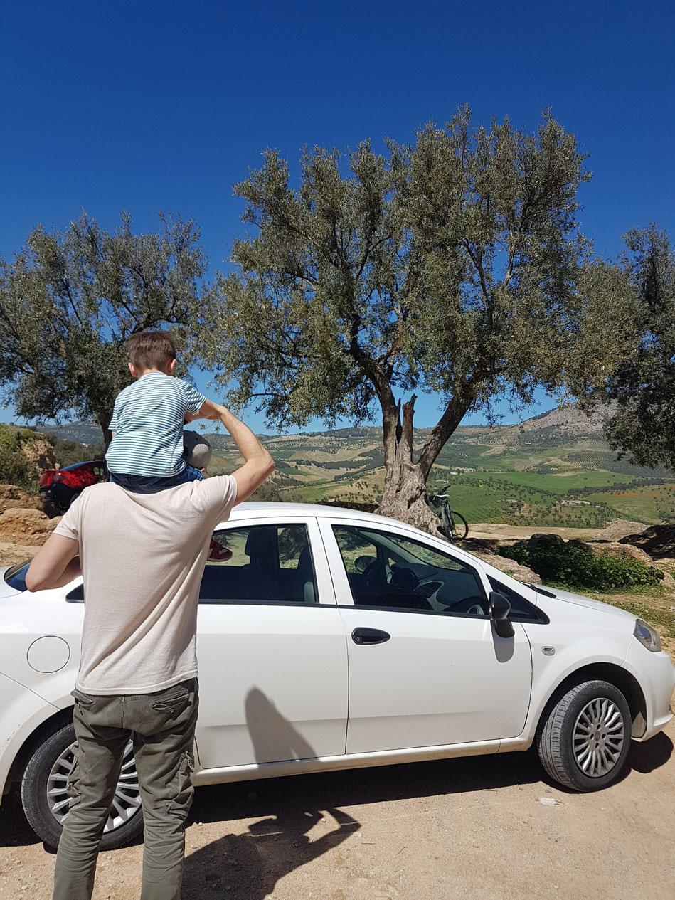 Mietwagen Marokko Familie