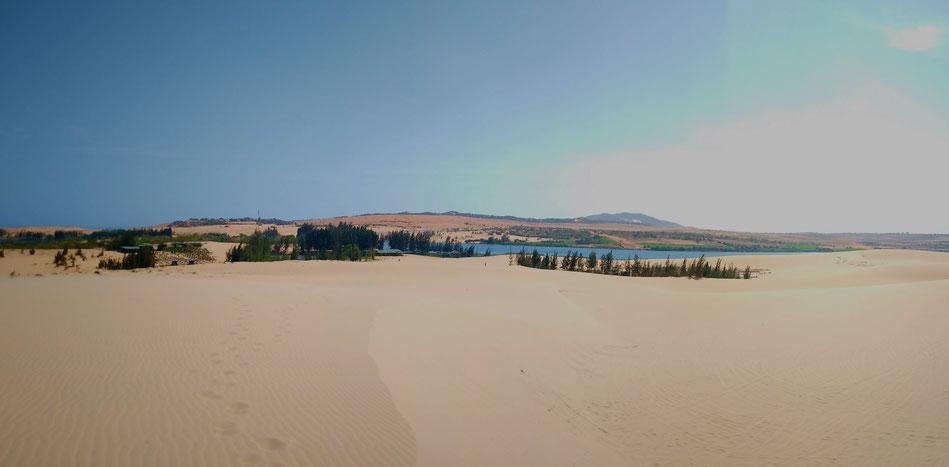 Mui Ne, les Dunes de sable blanc