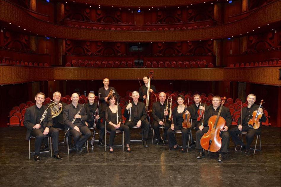 L'ensemble orchestral de l'Opéra de Reims.