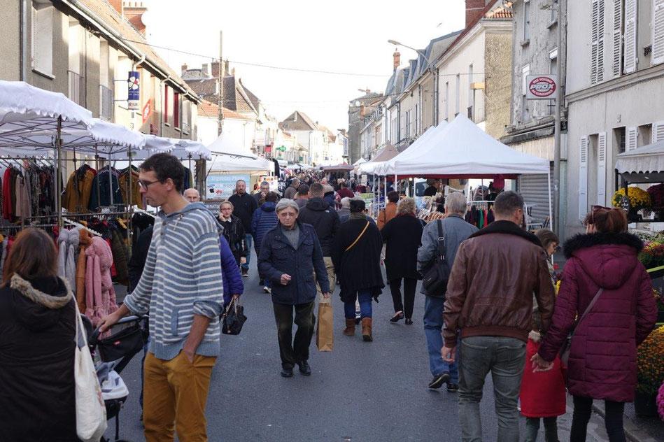 L'édition 2019 de la foire Saint-Crépin avait rencontré, une fois encore, un beau succès populaire.