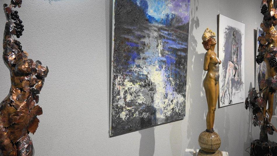 Le peintre français Claude Legrand et le sculpteur polonais Jacek Sumeradzki exposent chez Anna et Franck Météyer jusqu'au 10 septembre 2017.
