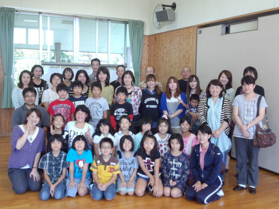 新堀小学校3年生親子体験教室 7-Colors鶴岡ガラスアート工房