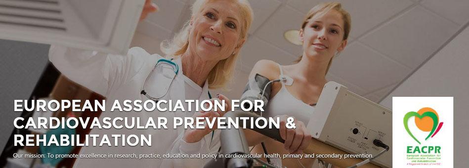 Bildquelle: Webseite der European Association for Cardiovascular Prevention & Rehabilitation (EACPR)