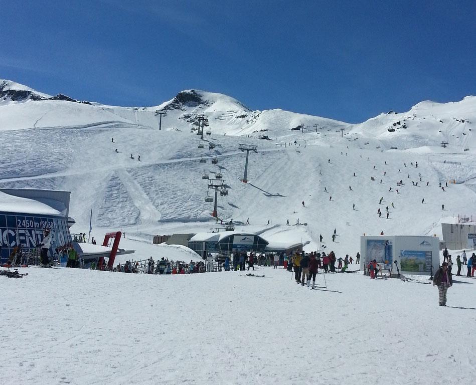 Gletscher-Skigebiet- Kitzsteinhorn Kaprun