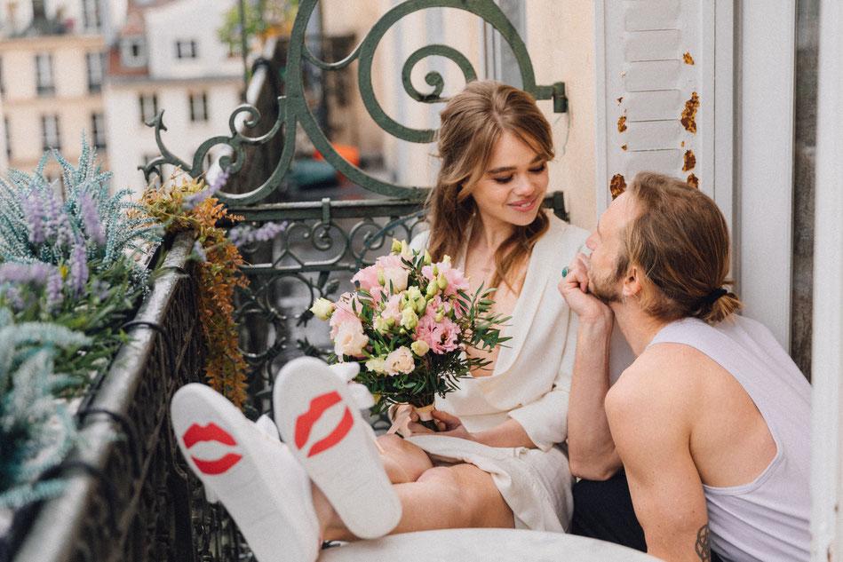 Bons Baisers de Paname X Elise Hameau - Baskets pour votre mariage - Shooting signé  Maude Chalard - Tous droits réservés©