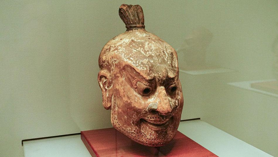 Masque japonais,Galerie des trésors du Horyu-ji à Tokyo-Ueno, Japon