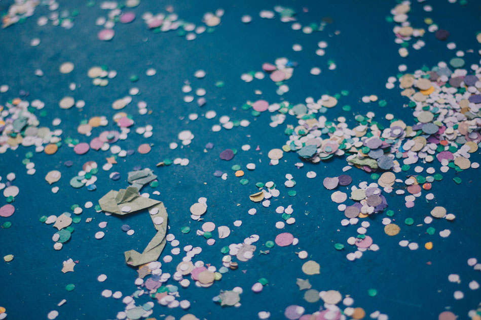 plastikfreies Konfetti selber machen