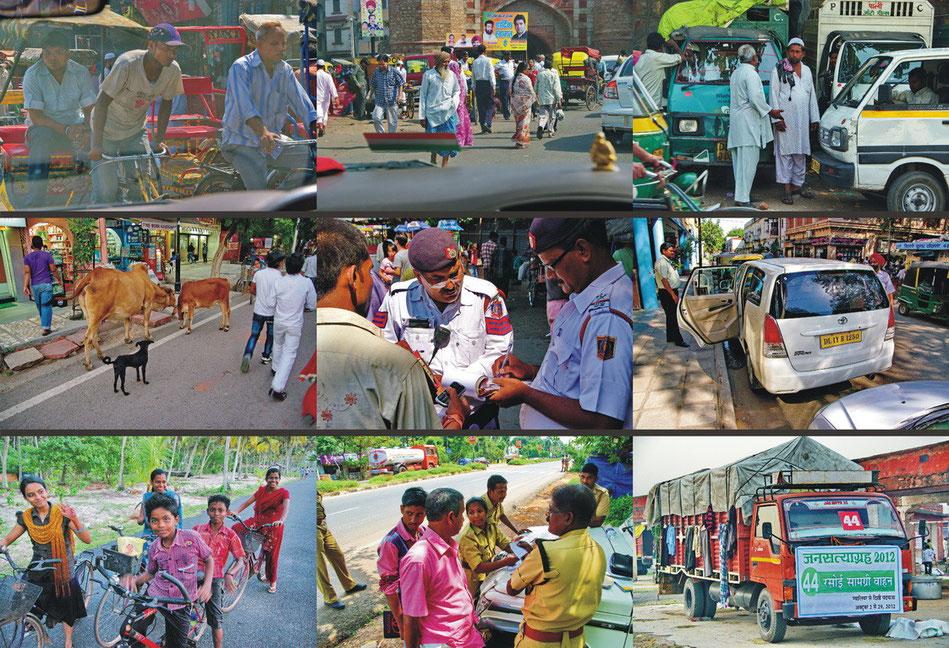 Verkehr in Nord- und Südindien