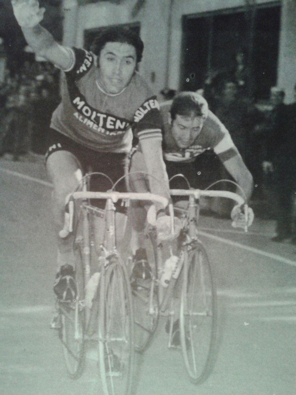 Eddy Merckx grande protagonista al Laigueglia